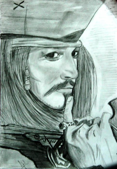 Johnny Depp by Vinnysv